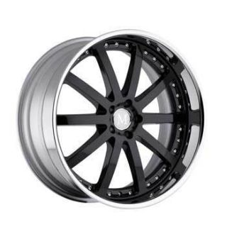 Velo 19x9 5 5x112 ET35 Black Wheels Mercedes Benz 1 Rim S