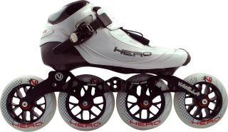 Competition Inline Speed Skates 110mm Wheels Size 6 Ships Free