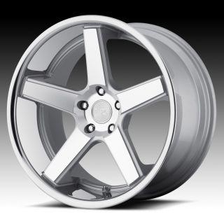 20 inch Niche Nurburg Silver Wheels Rims Staggered 5x4 5 5x114 3