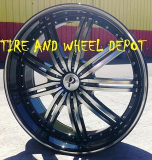 17 inch P118 Rims Wheels and Tires Altima Mustang Cadillac STS DTS cts
