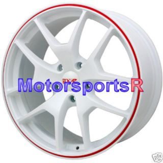 19 XXR Wheels Rims 518 White 5x120 04 05 06 Pontiac GTO