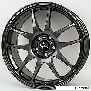 18 Rota Torque Gunmetal Rims Wheels 18x9 5 20 5x114 3 Evolution x EVO