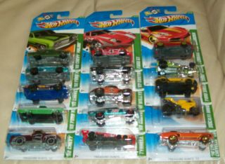 2012 Hot Wheels Complete Treasure Hunt Set 15 Cars Worldwide Shipping