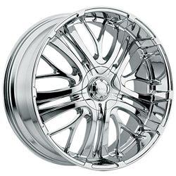 20 Inch Chrome Incubus Paranormal Wheels Rims Chevrolet Trailblazer SS