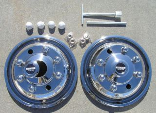 19 5 International 4700 Dually Wheel Simulators Fronts