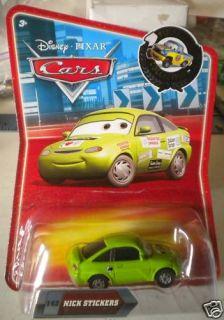 Disney Pixar Cars Nick Stickers 142 Final Lap Collection New