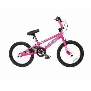 Dynacraft 18 Wheels Girls Magnolia BMX Bicycle Tony Hawk Customized