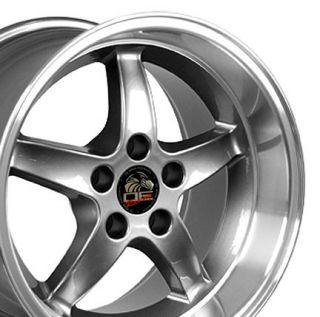 17 Rim Fits Mustang® Cobra Wheel Gunmetal 17x10 5