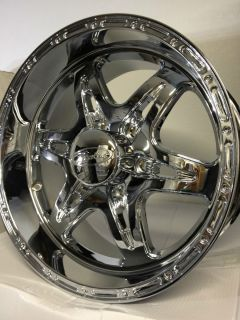 Raceline Renegade 6 Wheels Rims Chevrolet Silverado Tahoe 6 Lug