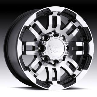 16 in Vision Warrior Black Wheels Rims 5x4 5 5x114 3 0