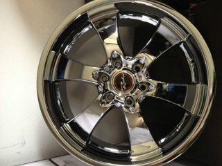 22 Inch Raceline Chrome Maxim 6 Wheels Rims Chevrolet Silverado Tahoe