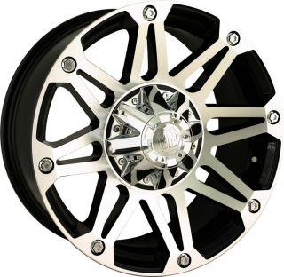 18 inch Mayhem Riot Black Wheels Rims 6x135 F150 6 Lug Expedition 6
