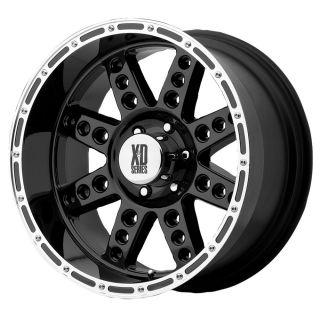 18x9 KMC XD Diesel Black Wheel Rim s 5x139 7 5 139 7 5x5 5 18 9