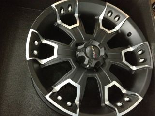 20 Inch Black Ballistic Havoc Wheels Rims Dodge Ram 1500 Dakota 20x9