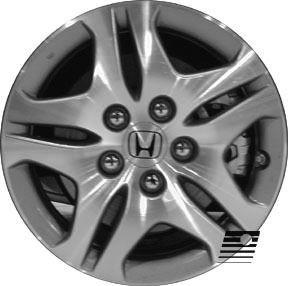 Refinished Honda Odyssey 2005 2006 16 inch Wheel Rim