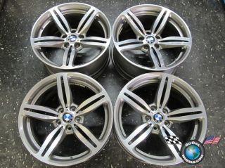 06 10 BMW M6 M5 Factory 19 Wheels Rims 59544 59546 Style 167