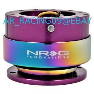 NRG Quick Release Version 2 0 Purple Neo Chrome Ring SRK 200pp MC