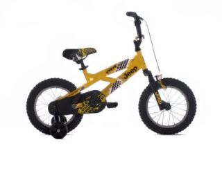 New Jeep Boys Bike 14 inch Wheels Fast Free