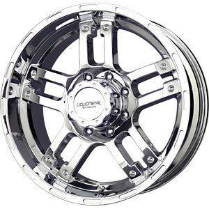 New 18x9 5x127 Liquid Metal Rhino Chrome Wheels Rims
