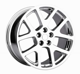 22 Viper SRT8 300C Charger Magnum Wheels Rims Chrome