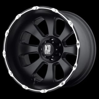 20 Inch 20x9 Matte Black Armour RIMS 5 LUG Wheel Ford Ranger Truck 5x4