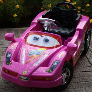 Lightning Kids Ride On radio Remote Control Wheels Power Enzo Car