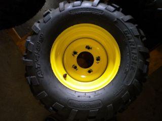 John Deere 22x9 5 10 Tire Yellow 5LUG Rim Carlisle AT489 TX Gator