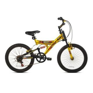 New Kent Boys Super 20 Mountain Bike 20 inch Wheels Fast Free