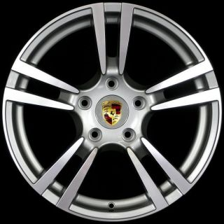 Style Wheel Tire 5x130 Gun Metal Rims Fits Cayenne s 2004 2010