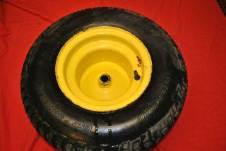 John Deere 170 15x6 00 6 Carlisle Turf Gard Front Tire w Wheel Rim