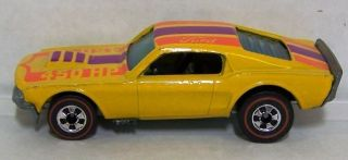 1974 Mattel Hot Wheels Redline Mustang Stocker