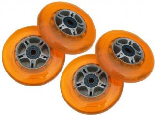 Orange Replacement Wheels Bearings for Razor ABEC 7