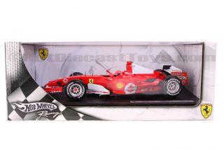 Hot Wheels Ferrari 248 F1 Michael Schumacher 2006 1 18