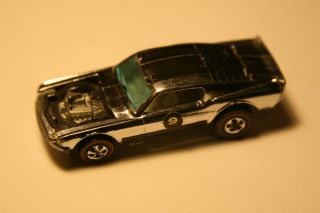 Hot Wheels Redline Mustang Boss Hoss Chrome Club Car 1970