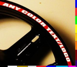 Rim Stripe Wheel Decal Tape Sticker GSXR 1000 Hayabusa