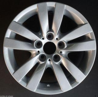 06 07 08 BMW 325i 328i 330i 17 5 Double Spoke Factory OEM Wheel Rim H