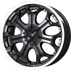 22 Black Wheels Rims V Tec Torch 2 Dodge RAM 1500 Ford F 150