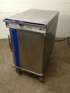 Precision Hot Food Heating and Holding Cabinet on Wheels RS 151