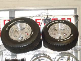 Billet Specialties/Boyd 15 Wheels w/ BFGoodrich Radial TA Tires Chevy