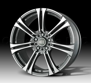 Momo Car Wheel Rim Next Anthracite 17 x 7 inch 5 on 100 mm Part