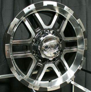 18 inch ion 179 Wheels Black Toyota Landcruiser Tundra
