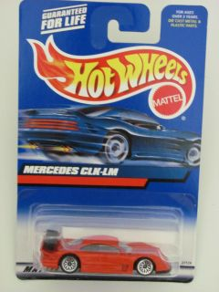 Hot Wheels 2000 Mercedes CLK LM 163 Red