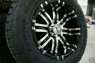 18 inch Chevy Silverado Wheels Rims 6x5 5 285 60 Tires