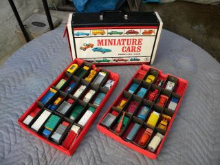 ESTATE LOT 4 of 40 LESNEY MATCHBOX regular whls MODEL CARS w CASE NICE