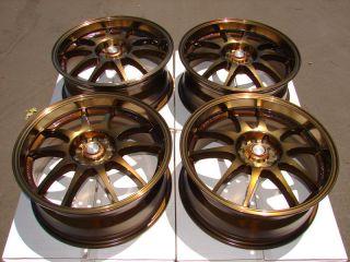 Wheels Bronze Celica Matrix mazdaspeed Tiburon Civic 5 Lug Rims