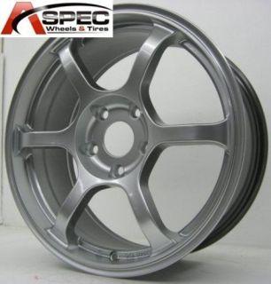 Rota Boost 17x8 5x114 3 ET48 Hyper Silver Wheels Rims