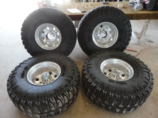 16.5X12 Eagle Alloy 058 Wheels 8x170 & 38X15.50R16.5 Truxus STS Tires