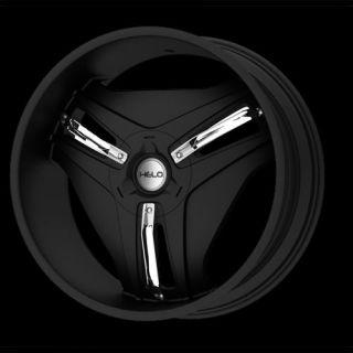RAM 1500 Durango F150 Helo 849 Black 20 Wheels Rims