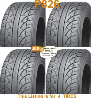 205 50 10 18x8 10 Low Pro Profile Golf Cart Tires Wanda Journey P826
