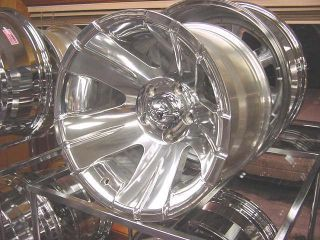 16x8 CHROME138 ion Wheel Chevy Jeep Wrangler Ford Dodge F150 8 Lug